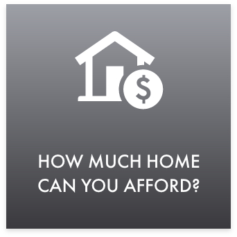 how much home can you afford button